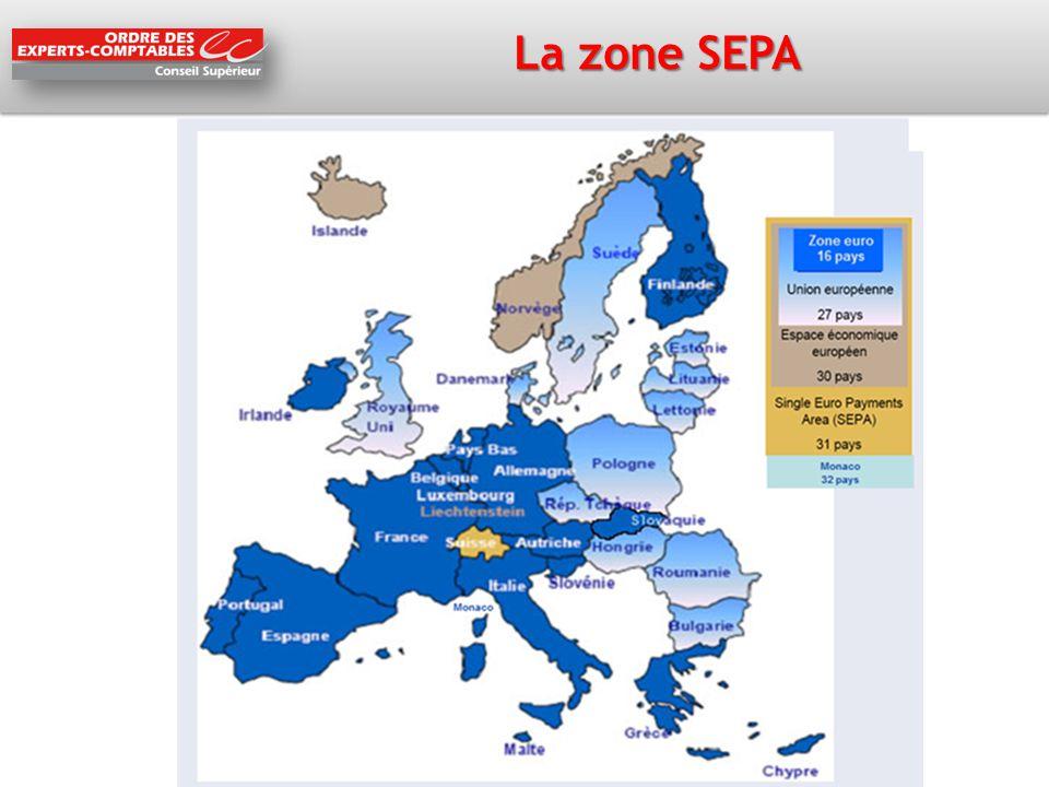 La zone SEPA