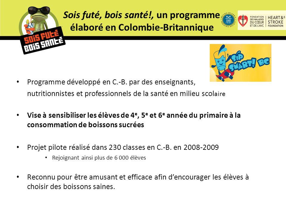 Programme développé en C.-B.