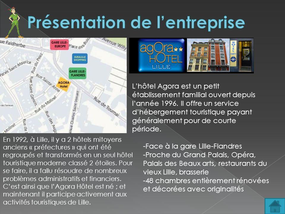 En 1992, à Lille, il y a 2 hôtels mitoyens anciens « préfectures » qui ont été regroupés et transformés en un seul hôtel touristique moderne classé 2