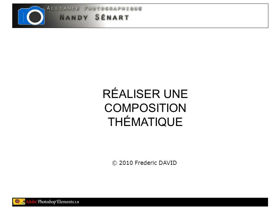 RÉALISER UNE COMPOSITION THÉMATIQUE © 2010 Frederic DAVID