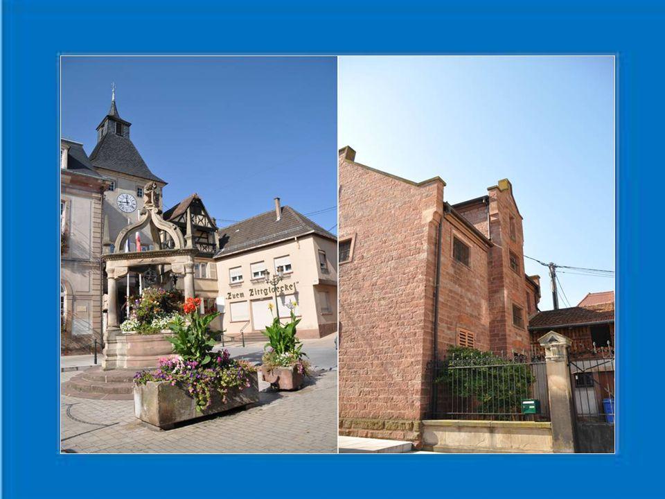 Un touriste s'arrêtant peu de temps à Rosheim aura à première vue l'impression d'une ville rue