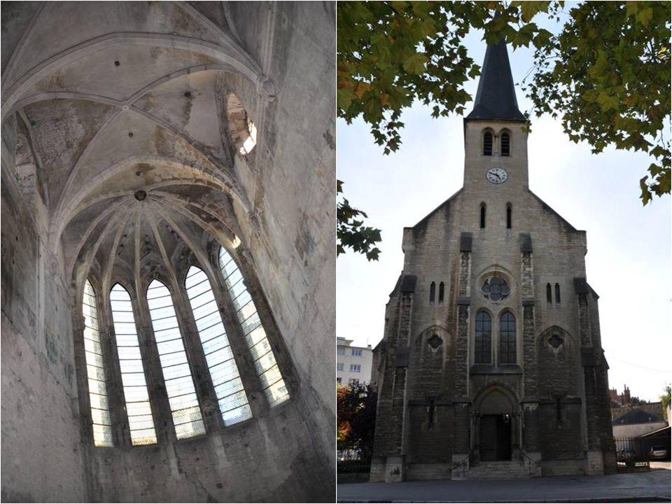 Un extrait de l'ancienne muraille au Musée de RUDE bâtiment accolé à l'ancienne chapelle qui héberge actuellement la chambres de commerce et d'industr