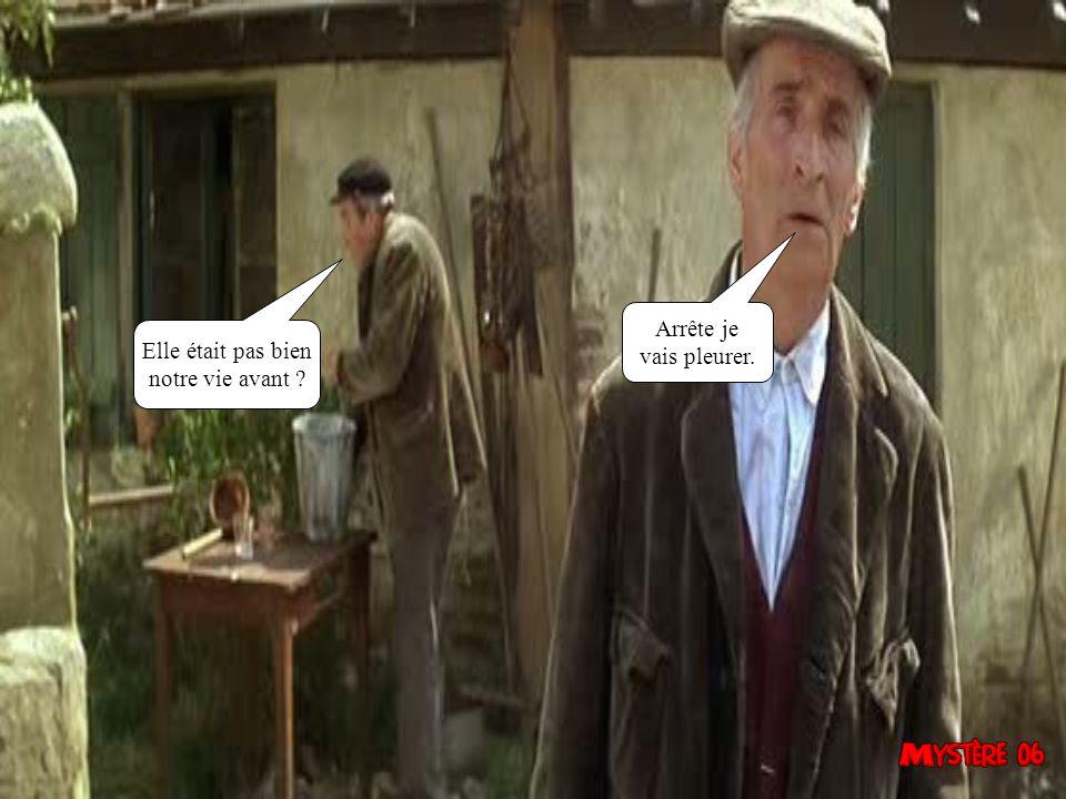C 'est quoi dans ton champs ? Va chercher le fusil, on dirait des socialistes.