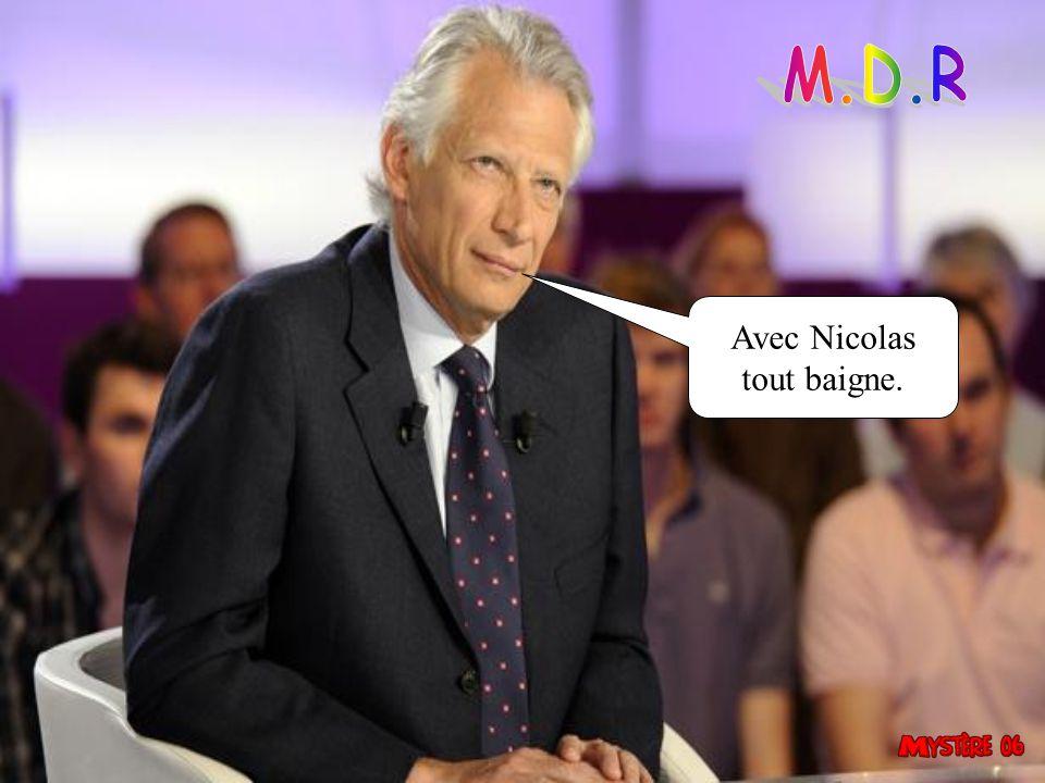 Je vais battre Marine le Pen.