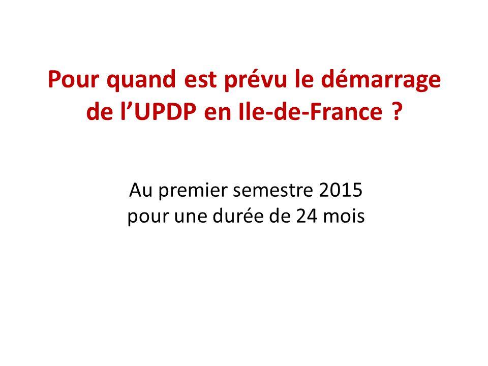 Si vous êtes intéressé par le principe de l'UPDP, quelle technologie souhaiteriez-vous partager .