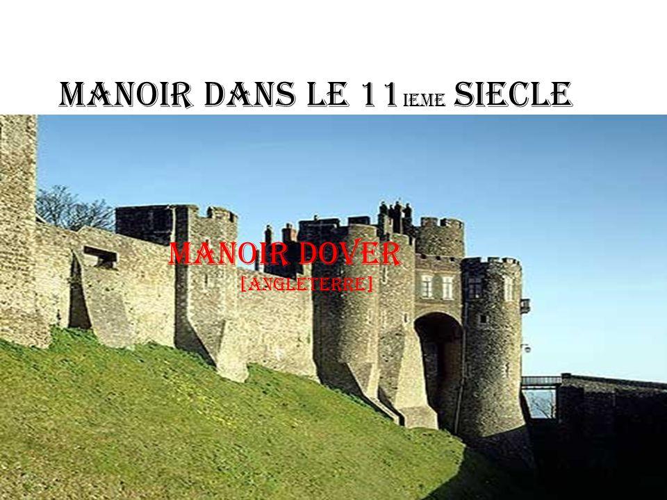 Manoir dans le 11 ieme Siecle Manoir Dover [angleterre]