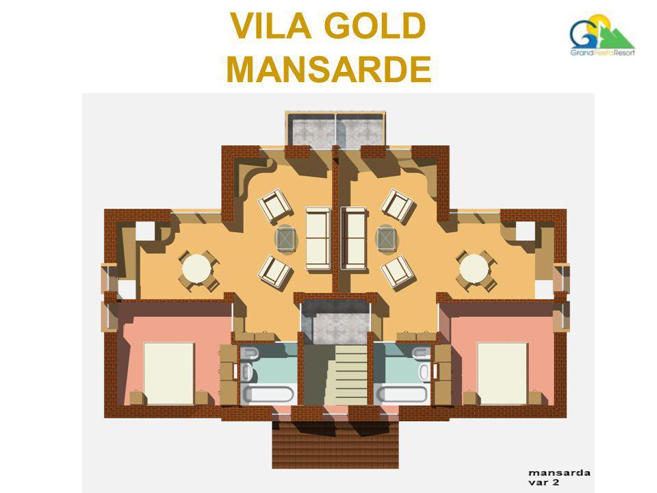 VILA GOLD MANSARDE