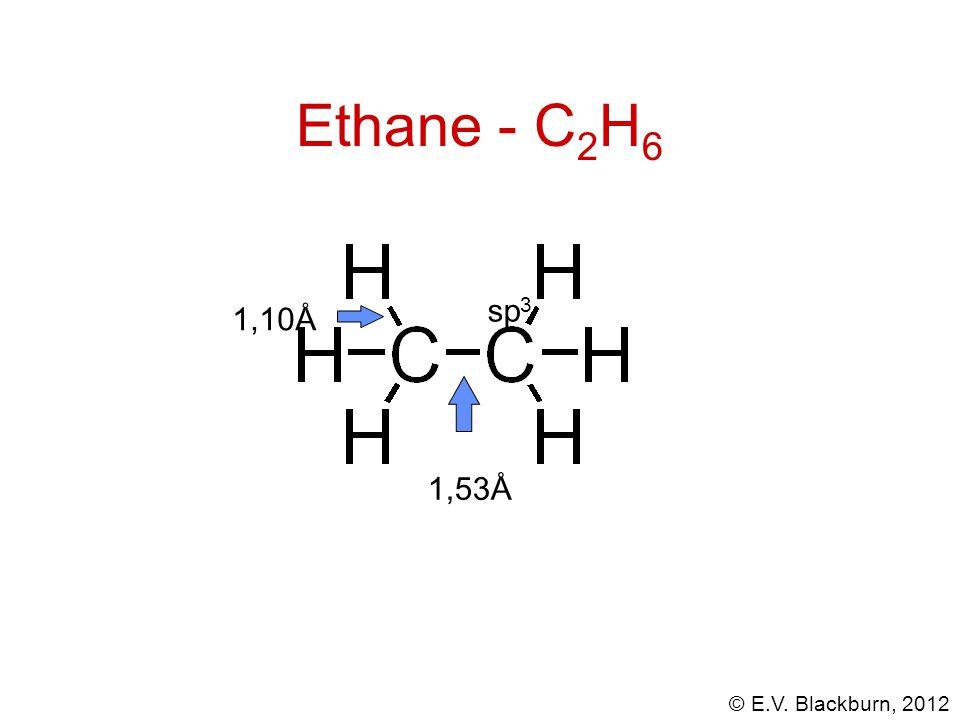 © E.V. Blackburn, 2012 Les cyclanes ont des cycles déformés: cyclobutane cyclohexane cyclopentane
