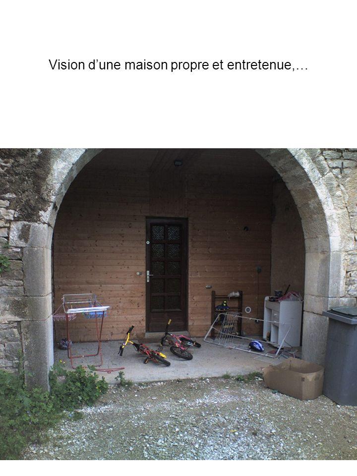 Vision d'une maison propre et entretenue,…