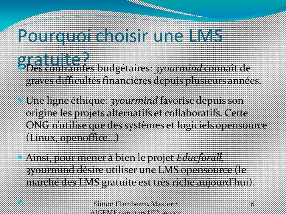Pourquoi choisir une LMS gratuite.