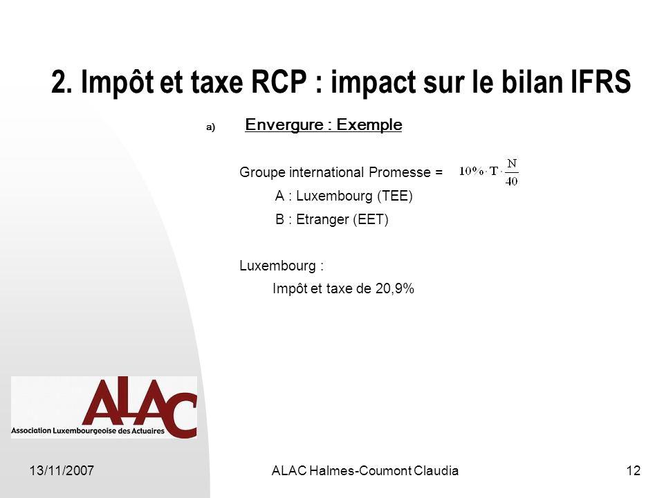 13/11/2007ALAC Halmes-Coumont Claudia12 2.