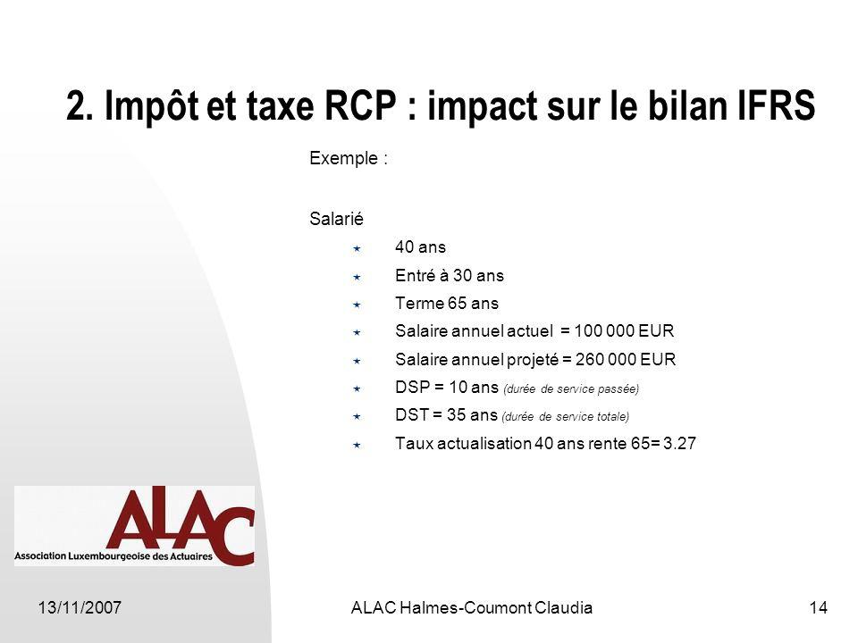 13/11/2007ALAC Halmes-Coumont Claudia14 2.