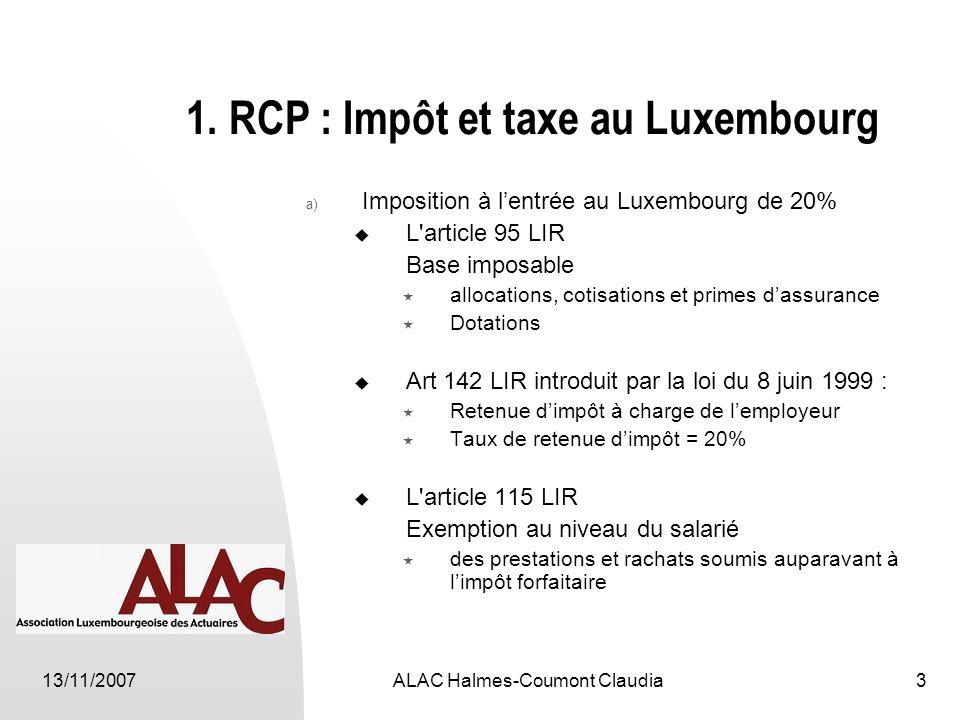 13/11/2007ALAC Halmes-Coumont Claudia3 1.