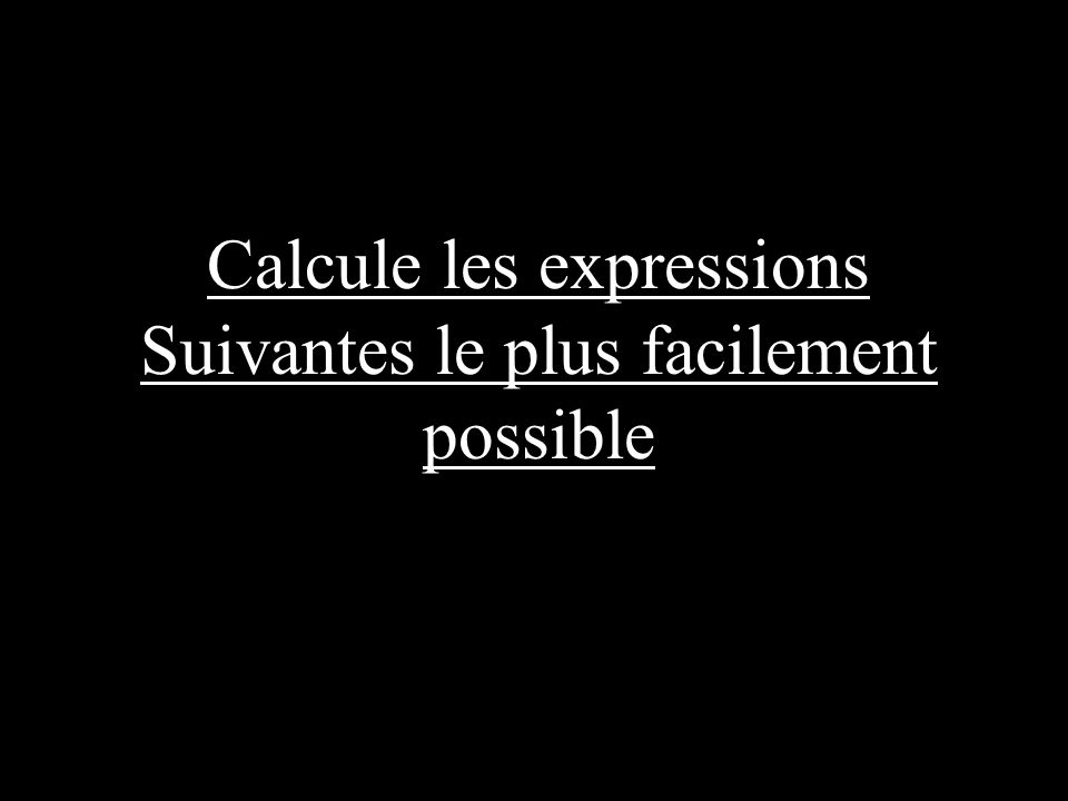 CALCUL MENTAL Distributivité...