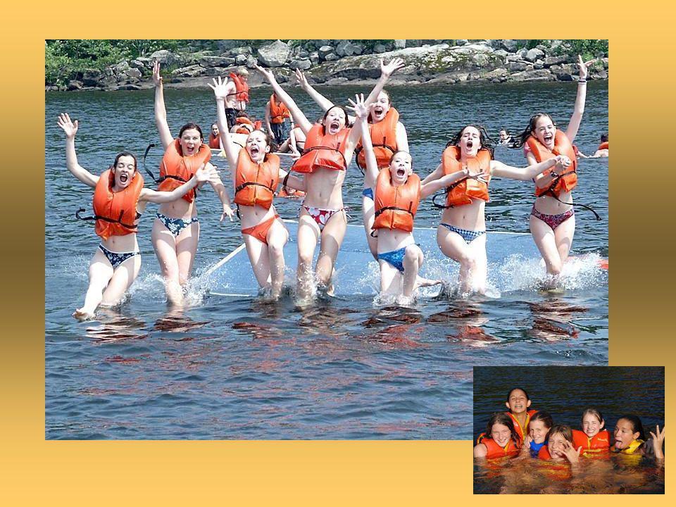 …sans oublier toutes ces activités que l'on peut faire au lac!