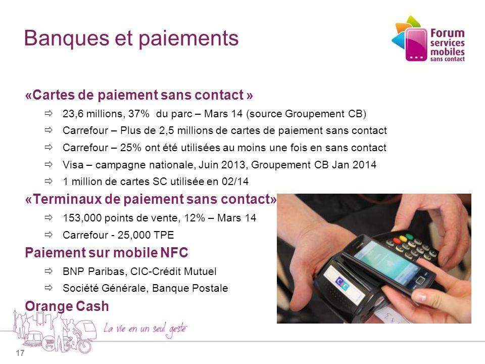 18 Commerce et distribution Infrastructure de paiement sans contact en place Casino  Un premier supermarché « full » NFC, Paris en 2012  2,700 m², 25,000 références E.