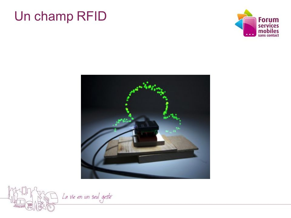 La RFID en pratique - Logistique - 5 - L'étiquette RFID est sur un colis.