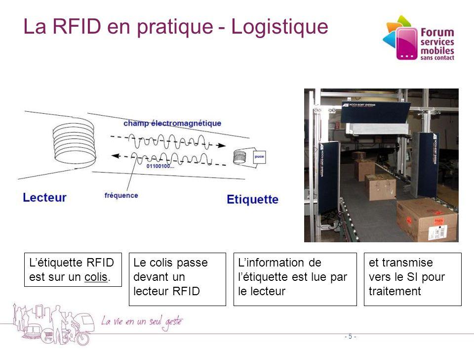 Etiquettes RFID - 6 -