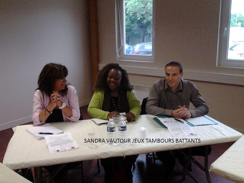 SANDRA VAUTOUR JEUX TAMBOURS BATTANTS