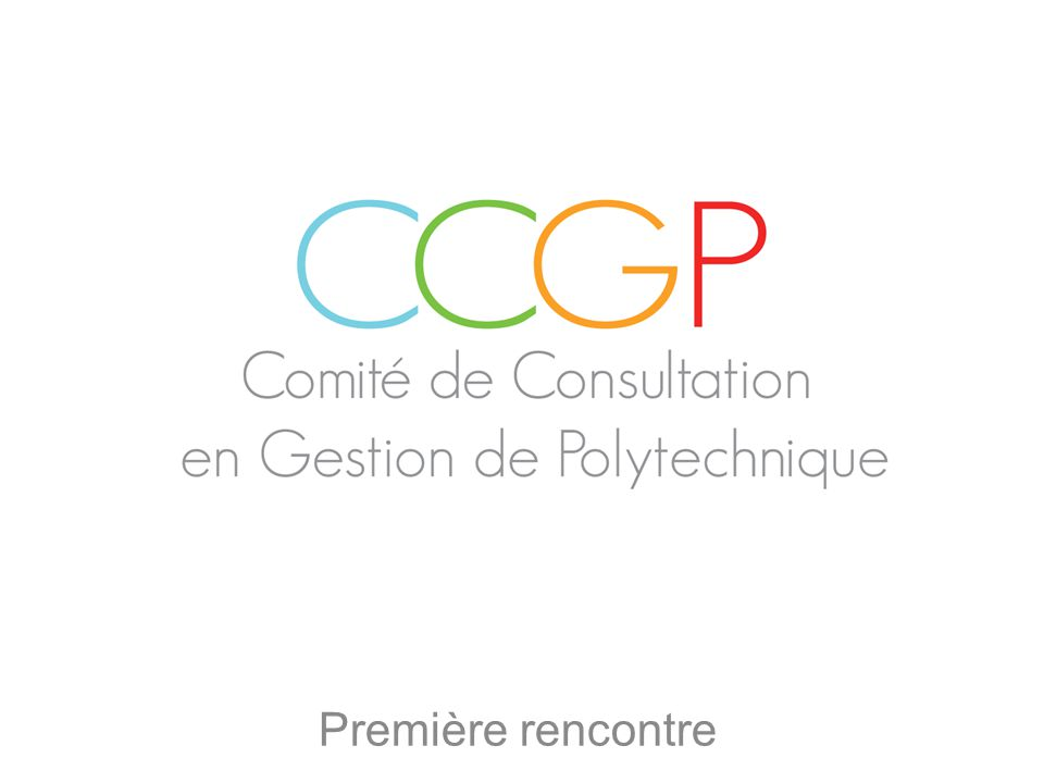 La consultation en gestion Questions? Plan de match Le CCGP en bref 1 2 3 4