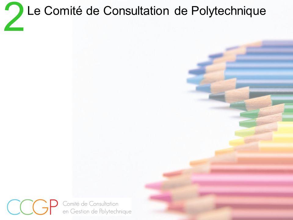 Le Comité de Consultation de Polytechnique 2