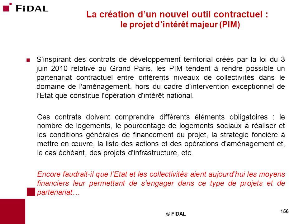  S'inspirant des contrats de développement territorial créés par la loi du 3 juin 2010 relative au Grand Paris, les PIM tendent à rendre possible un