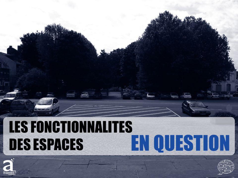 LES FONCTIONNALITES DES ESPACES EN QUESTION