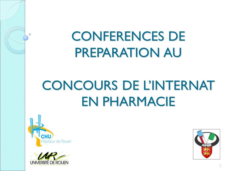 Les conférences Cas cliniques, exercices ou QCM en fonction du thème Une conférence = un grand thème du programme 1 ou 2 internes / conférence 12
