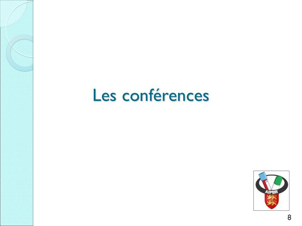 Les conférences 8