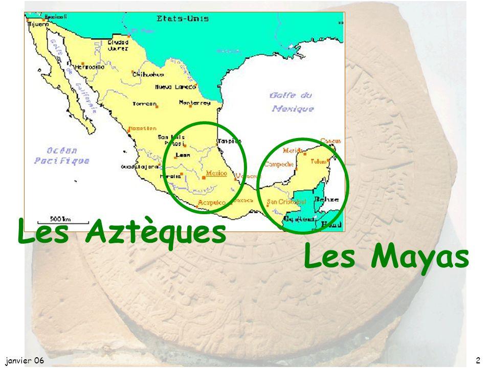 L'ASTRONOMIE, les MATHEMATIQUES et les CALENDRIERS chez les AZTEQUES et les MAYAS janvier 061