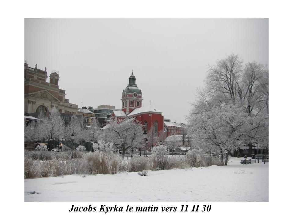 Jacobs Kyrka le matin vers 11 H 30