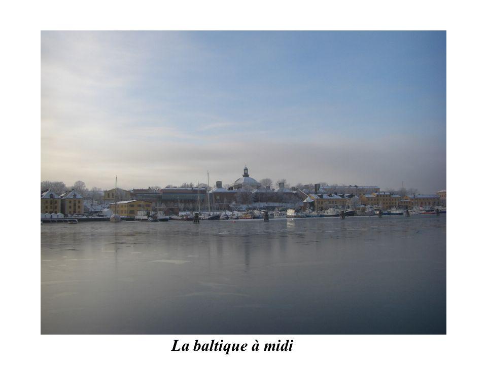 La baltique à midi