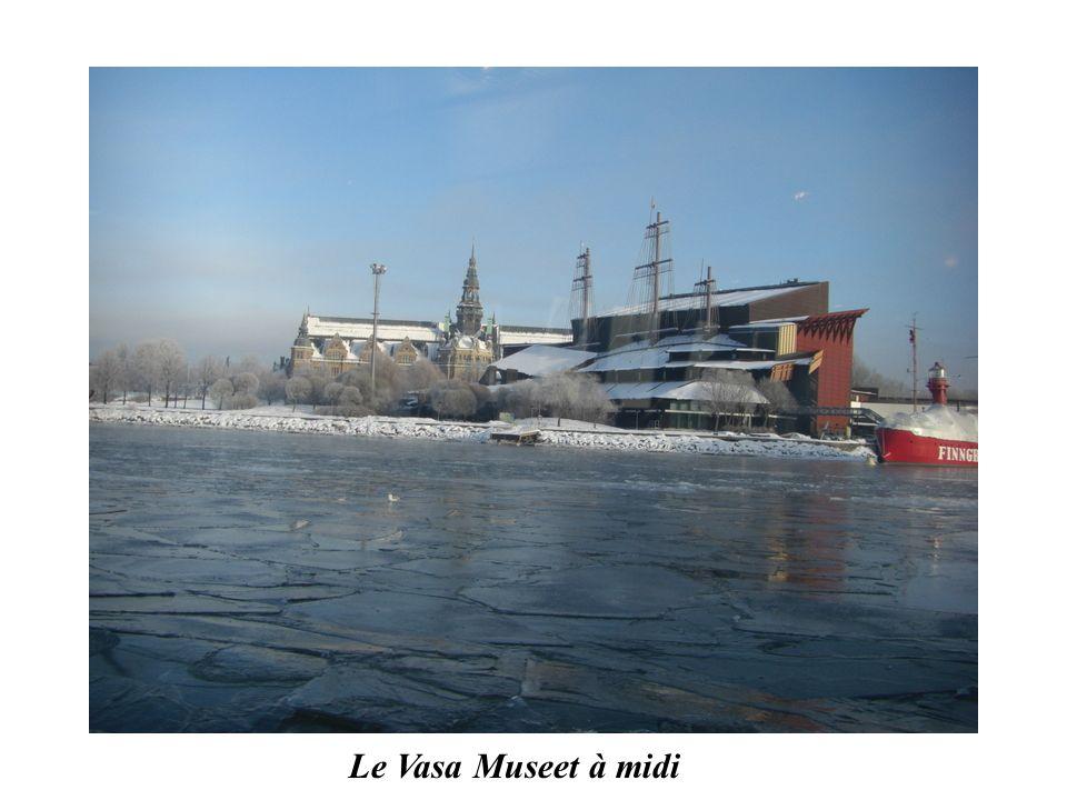 Le Vasa Museet à midi