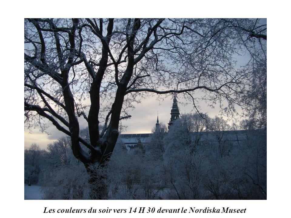 STOCKHOLM vers 11 H 30 en janvier