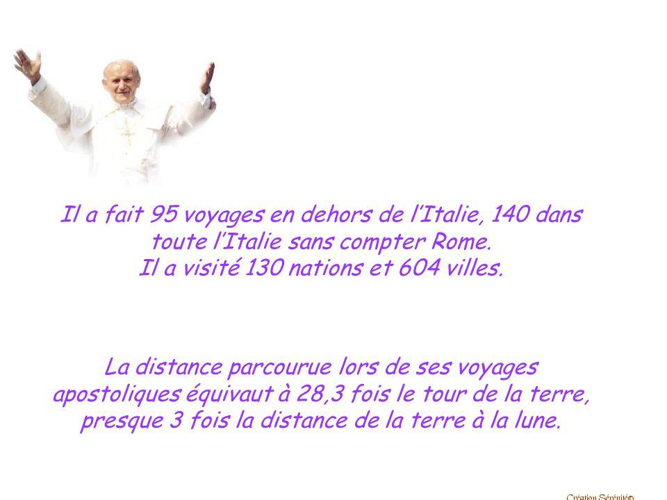 Voici quelques raisons pour lesquelles Jean-Paul II est fatigué après plus de 25 ans de pontificat…