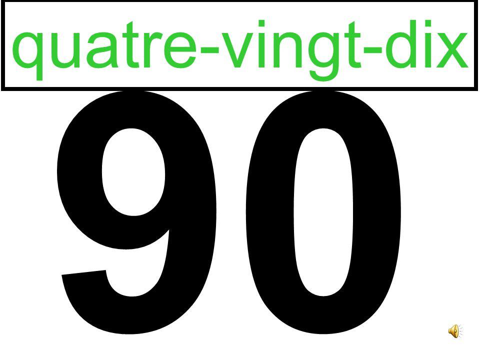 80 quatre-vingts