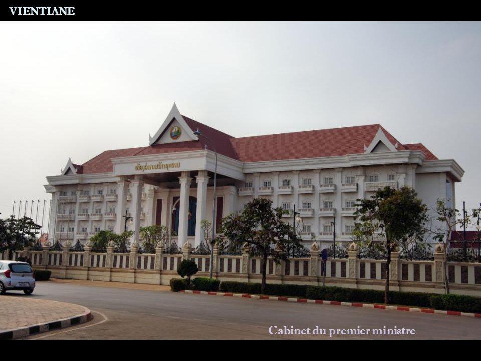 VIENTIANE A proximité du reliquaire de That Luang