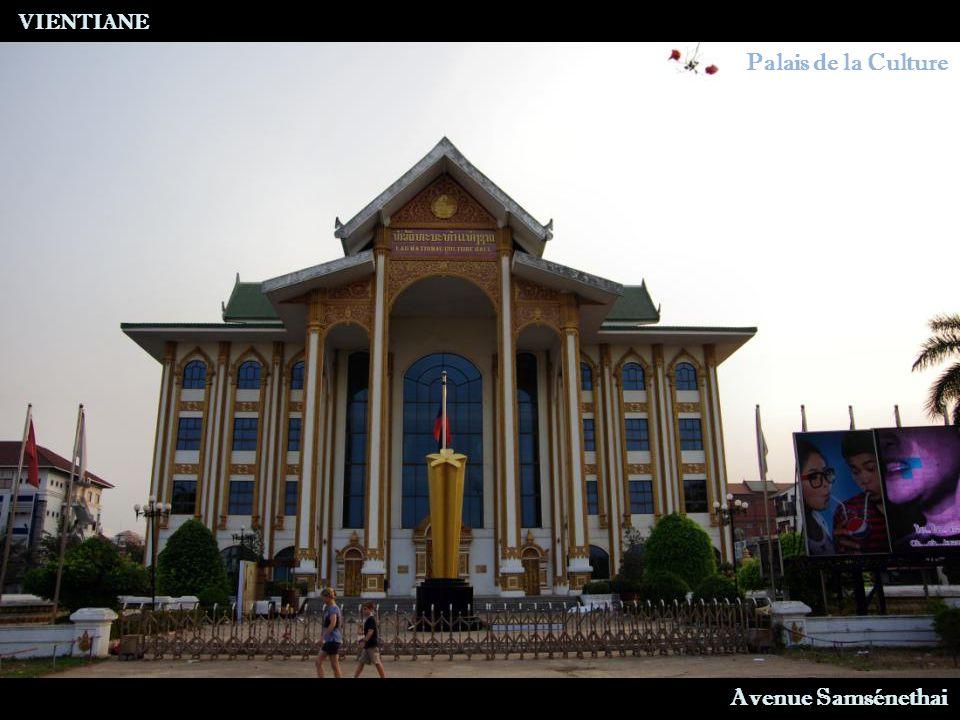 VIENTIANE Stupa Noir