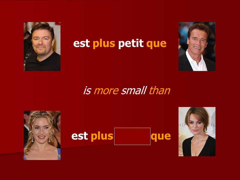 (Greetings) Tu aimes (famous person) .(No), je préfère (other famous person) Pourquoi .
