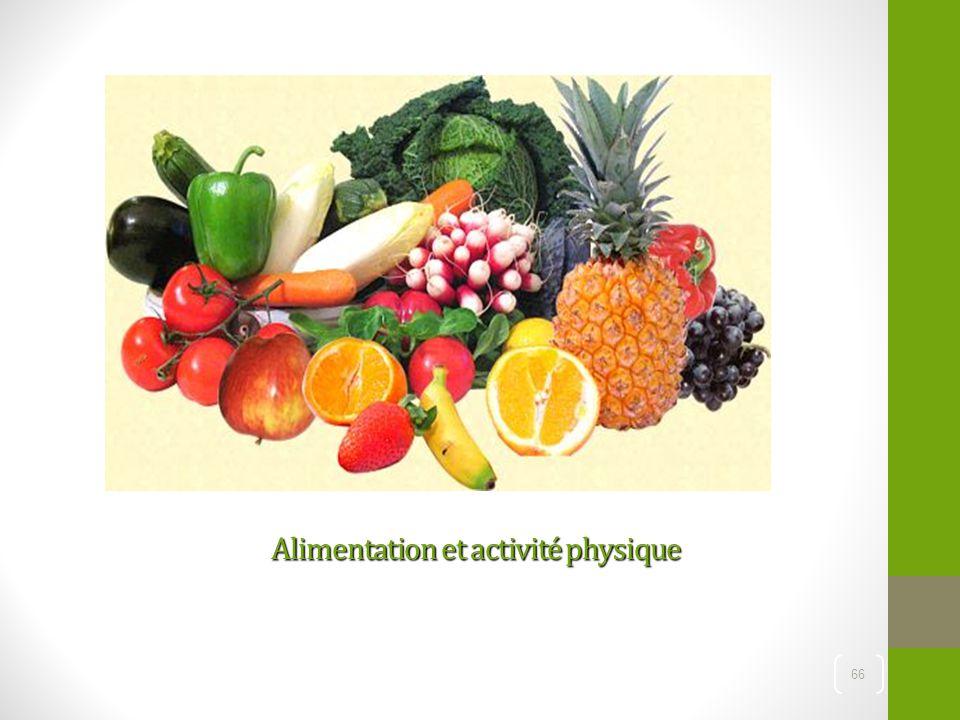 Alimentation et activité physique 66