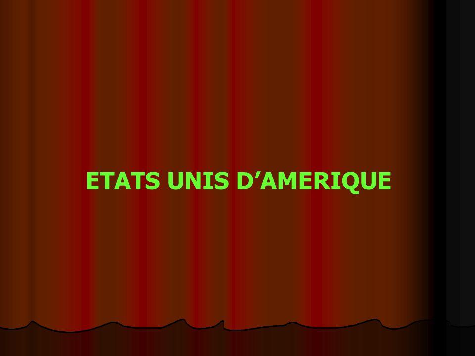 ETATS UNIS D'AMERIQUE