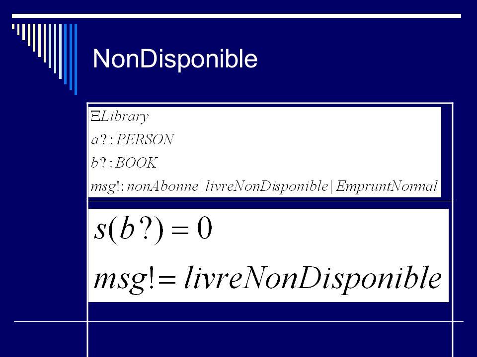 NonDisponible