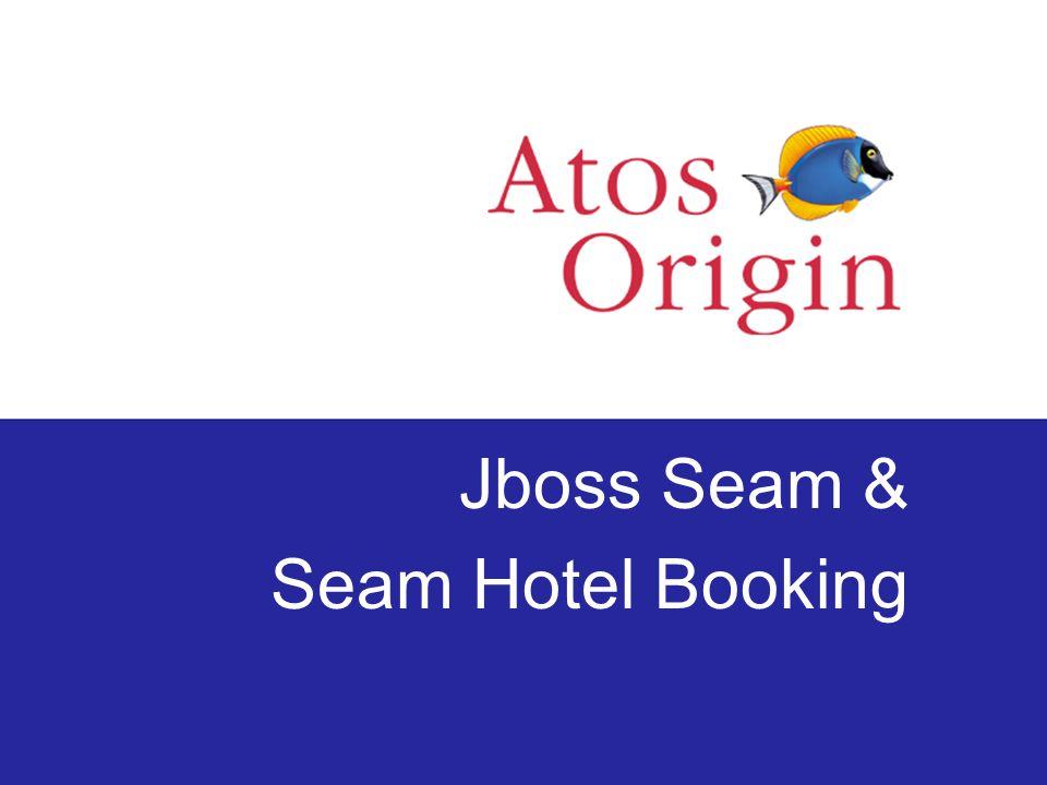 Jboss Seam & Seam Hotel Booking