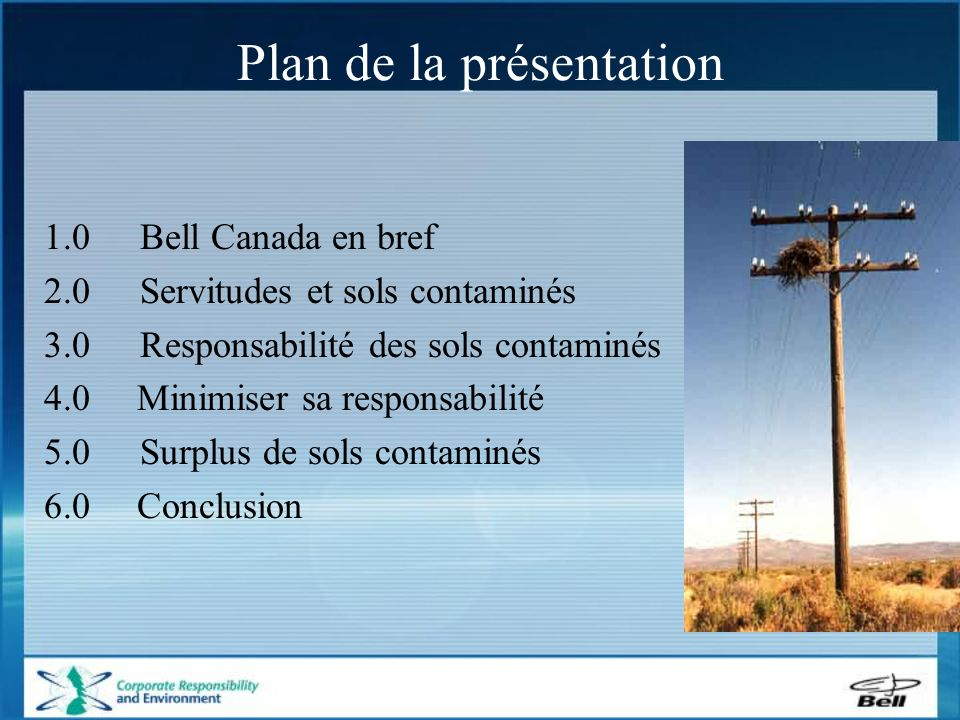 Bell Canada - en bref