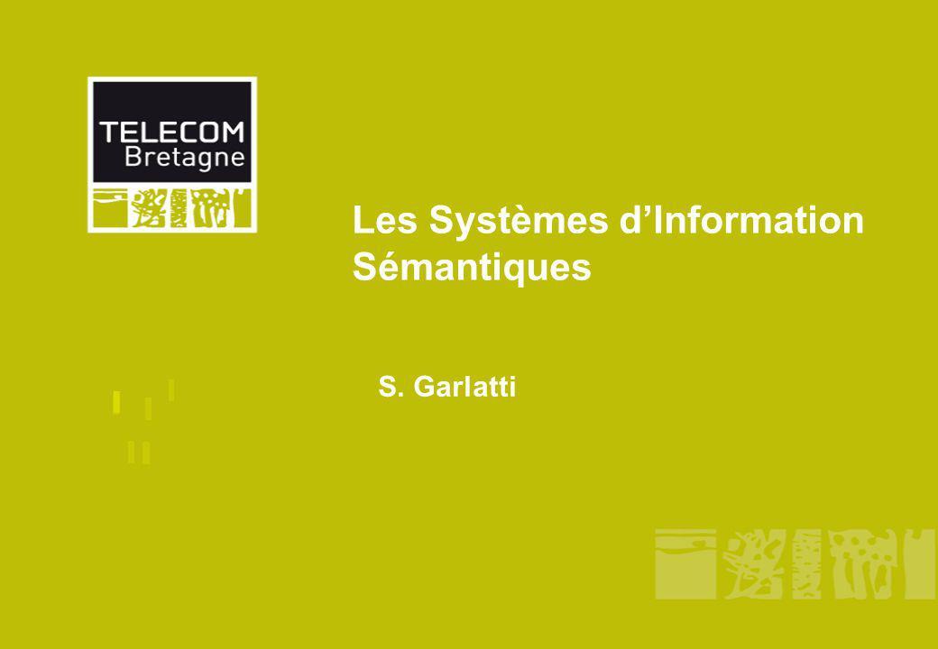 PLAN Séance 1 : Problématique, Problème1 Séance 2 : Le web sémantique, Séance 3 : RDF / RDFS, les Ontologies, Séance 4 : OWL, SKOS, SIOC, FOAF Séance 5 : Linked Data ou Web of Data, Le langage Sparql Cours 6 : Le web sémantique & social en Action