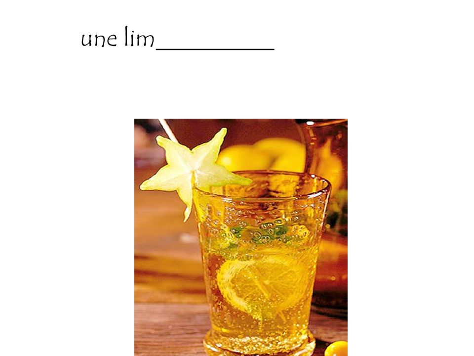 une lim__________