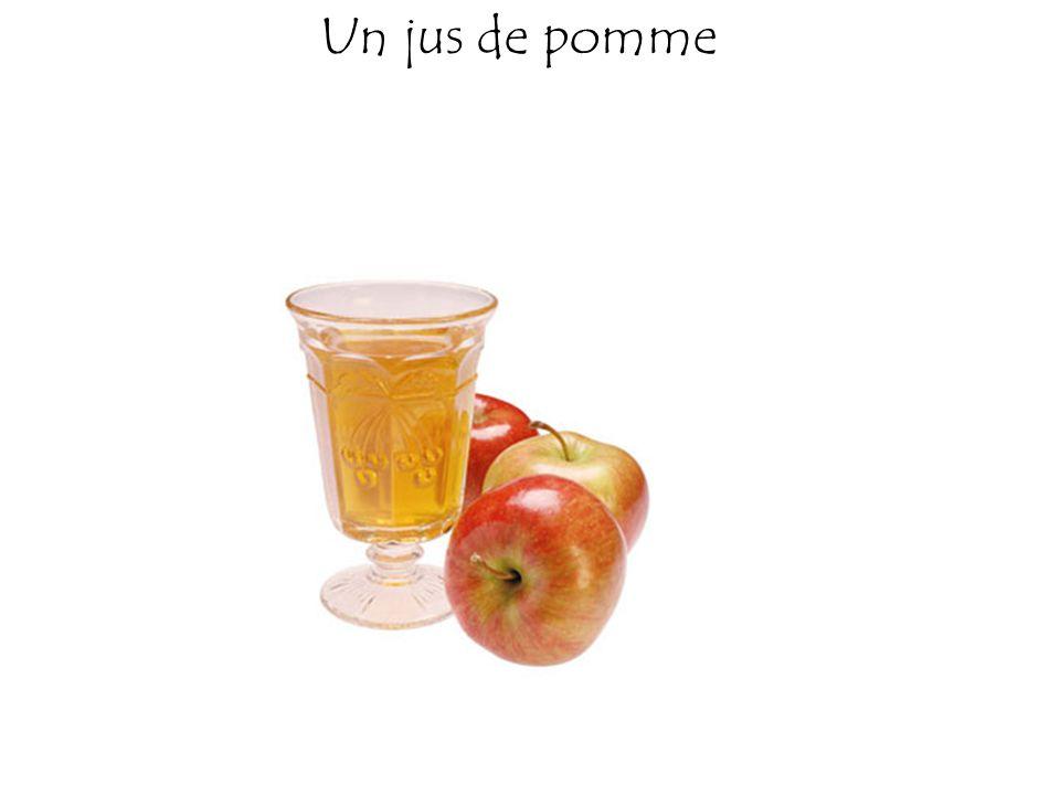 Un jus de pomme