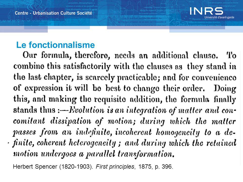 Critique des idées de Talcott Parsons sur la famille  Parsons a interpr é t é l 'é volution des statistiques d é mographiques au cours des ann é es qui pr é c é daient 1955 comme la fin d ' une p é riode de transformation.