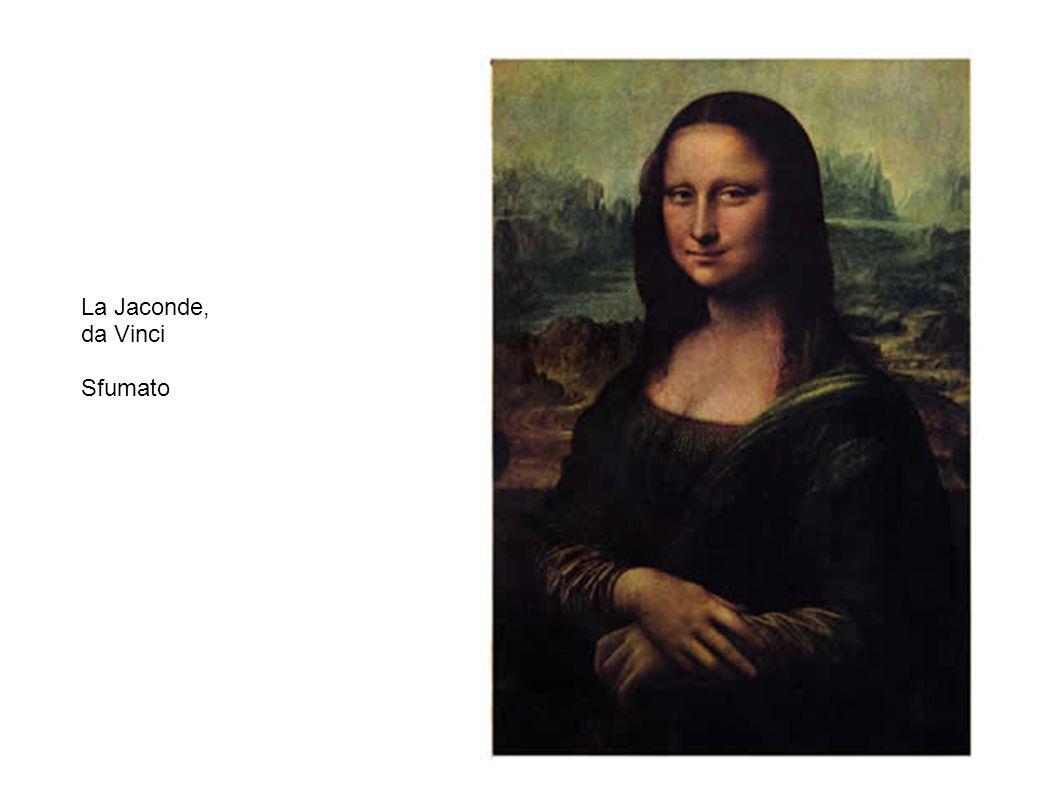 La Jaconde, da Vinci Sfumato