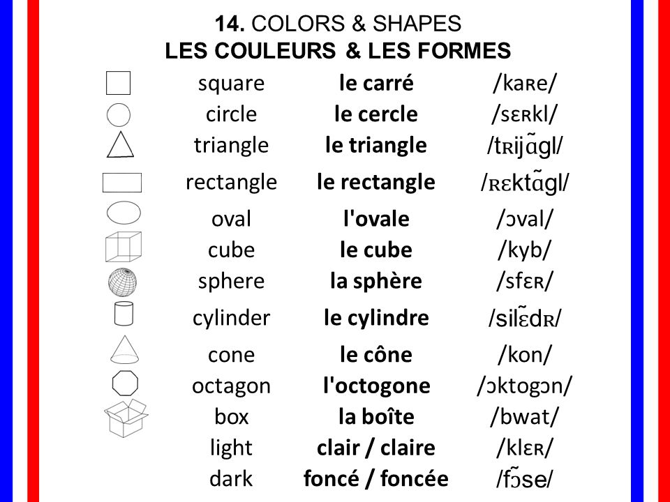 Some adjectives of color do not change to agree with gender or number, such as adjectives that also exist as nouns: orange, marron, rose; and compound adjectives: bleu clair, noir foncé remain masculine even if they describe a feminine noun.